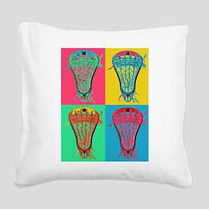 Lacrosse BIG 4 Square Canvas Pillow