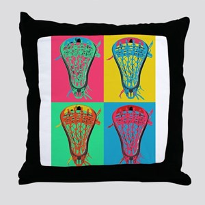 Lacrosse BIG 4 Throw Pillow