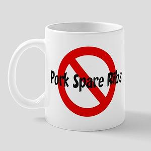 Anti Pork Spare Ribs Mug