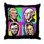 History Four Throw Pillow