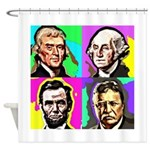 History Four Shower Curtain