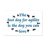 Best Dog For Agility Mini Poster Print