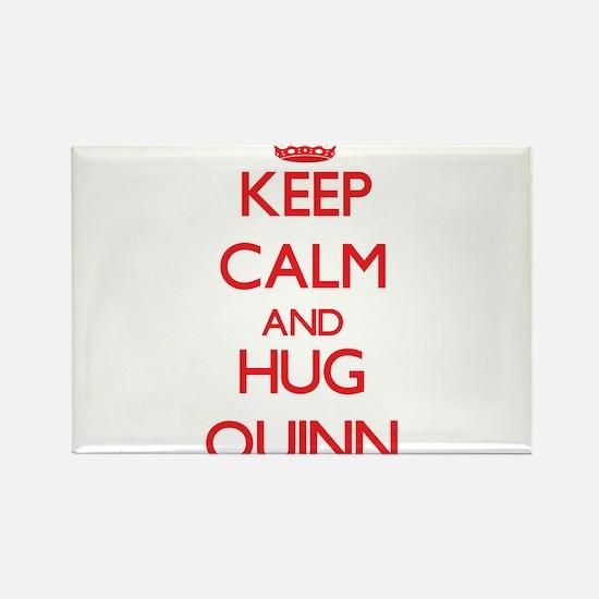 Keep Calm and HUG Quinn Magnets
