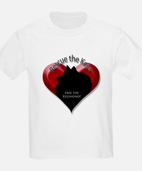 Rescue Kees - heart T-Shirt