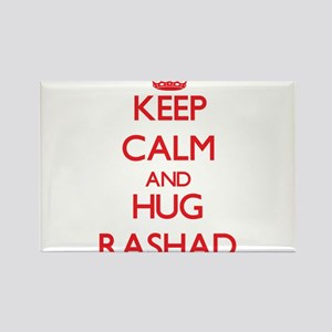 Keep Calm and HUG Rashad Magnets