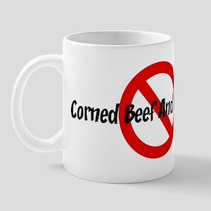 Anti Corned Beef And Cabbage Mug