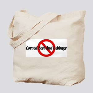Anti Corned Beef And Cabbage Tote Bag