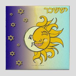 12 Tribes Israel Issachar Tile Coaster
