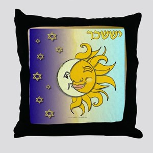 12 Tribes Israel Issachar Throw Pillow