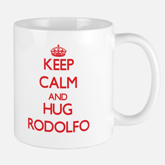 Keep Calm and HUG Rodolfo Mugs