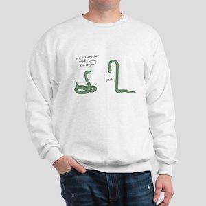 Candy Cane Snake Sweatshirt