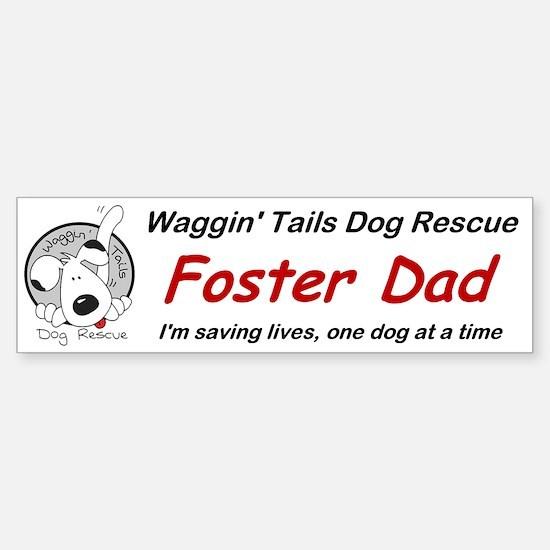 WTDR Foster Dad Bumper Bumper Bumper Sticker