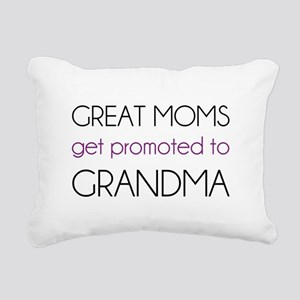 Great Moms Get Promoted To Grandma Rectangular Can