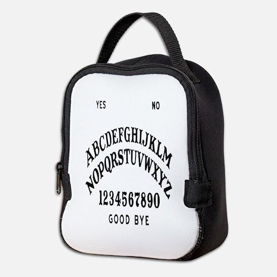 Talking Board Neoprene Lunch Bag