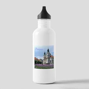 Prague souvenir Sports Water Bottle