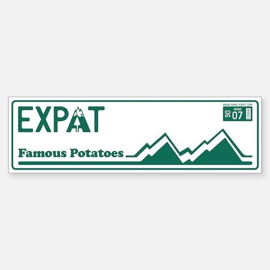Idaho Expat - 1890 Sticker (Bumper)