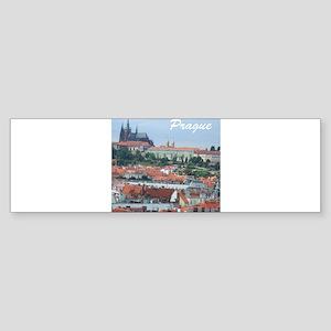 Prague city souvenir Bumper Sticker