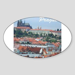 Prague city souvenir Sticker