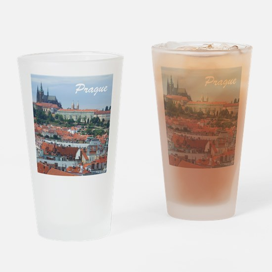 Prague city souvenir Drinking Glass