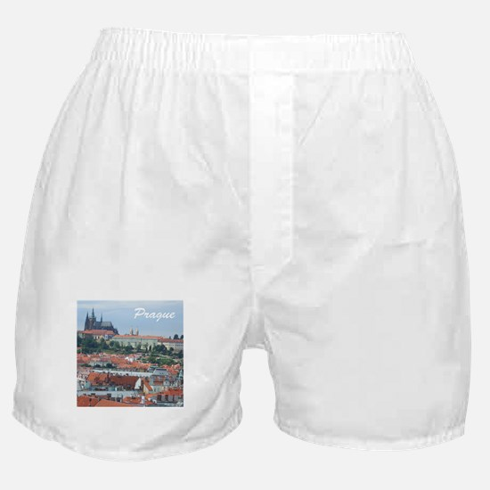 Prague city souvenir Boxer Shorts