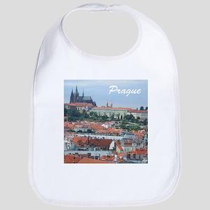 Prague city souvenir Bib