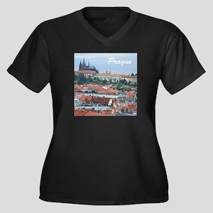 Prague city souvenir Plus Size T-Shirt
