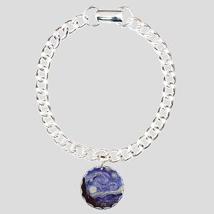 Starry  Charm Bracelet, One Charm