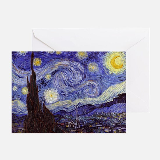 Starry  Greeting Card