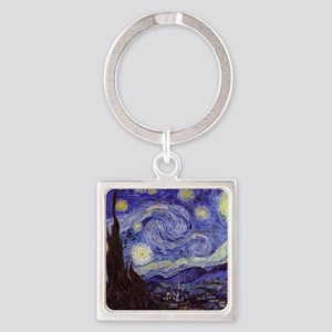 Starry  Square Keychain