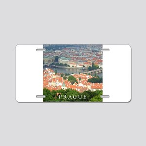 Prague Charles Bridge over Vltava river Aluminum L