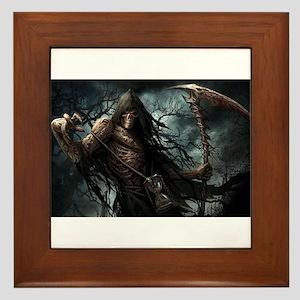 Death1 Framed Tile
