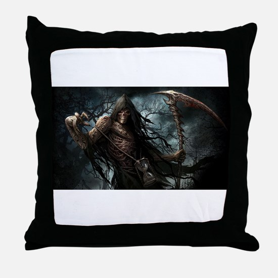 Death1 Throw Pillow