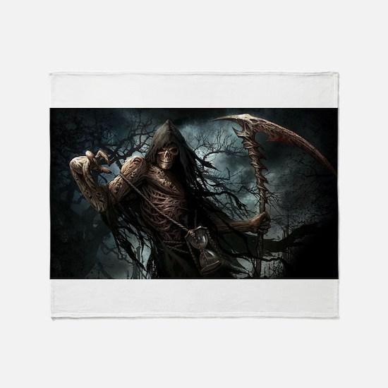 Death1 Throw Blanket
