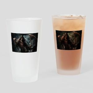 Death1 Drinking Glass