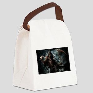 Death1 Canvas Lunch Bag