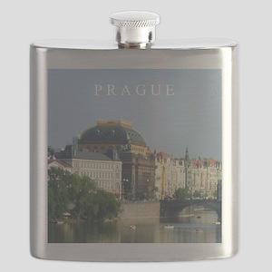 Prague State Opera House Flask