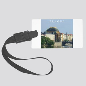 Prague State Opera House Large Luggage Tag
