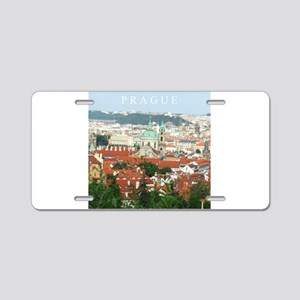 Prague Czech Republic souvenir Aluminum License Pl