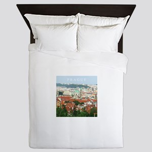 Prague Czech Republic souvenir Queen Duvet