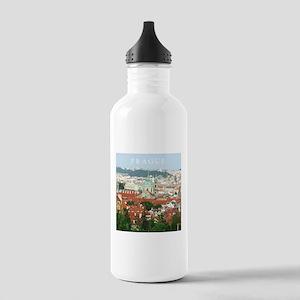 Prague Czech Republic souvenir Sports Water Bottle
