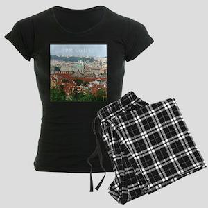 Prague Czech Republic souvenir pajamas