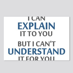 Engineers Motto Cant Understand It For You Postcar