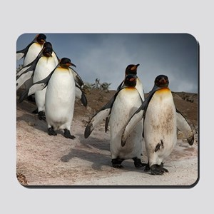 March of the Penguins Mousepad