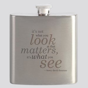It's not what you look at... Flask