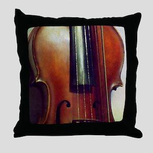 The Beautiful Viola Throw Pillow