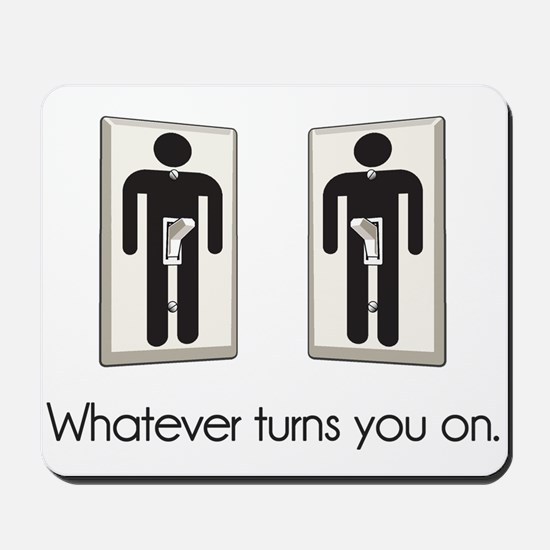 Whatever Turns You On Gay Male Light Switch Mousep