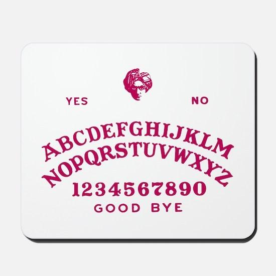 Talking Board Mousepad