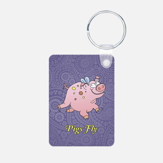 Pigs Fly Keychains