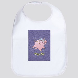 Pigs Fly Bib