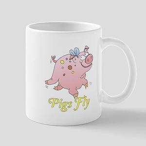 Pigs Fly Mugs